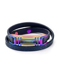 Tory Burch - Blue Fitbit Bracelet - Lyst
