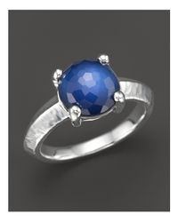Ippolita | Metallic Rock Candy Single Stone Ring In Midnight | Lyst