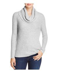 Soft Joie | Gray Mattingly Waffle-knit Cowl Neck Sweater | Lyst