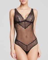 Cosabella | Black Papyrus Teddy Bodysuit | Lyst