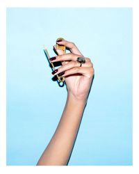 Ringly | Metallic Dive Bar Smartphone Connected Ring | Lyst