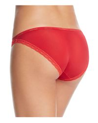 Calvin Klein - Red Bottoms Up Bikini #d3447 - Lyst