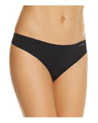 Calvin Klein   Natural Invisibles Thong #d3428   Lyst