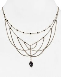 "Chan Luu - Black Multi Strand Necklace, 16.75"" - Lyst"