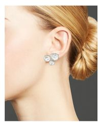Ippolita - White Rock Candy® Rosé Cluster Stud Earrings - Lyst