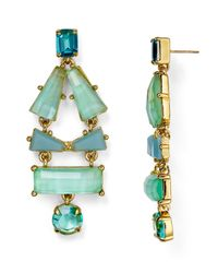 kate spade new york | Green Beach Statement Earrings | Lyst