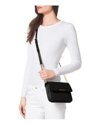 MICHAEL Michael Kors - Black Crossbody - Bedford Double Gusset - Lyst