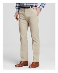 Brooks Brothers | Natural Milano Slim Fit Chino Pants for Men | Lyst
