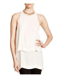 Free People White Layers In Love Tunic