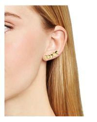 BaubleBar - Metallic Celine Ear Climbers - Lyst