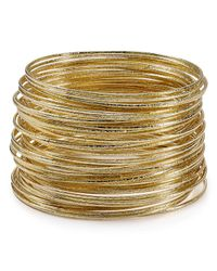 ABS By Allen Schwartz | Metallic Bangles, Set Of 50 | Lyst