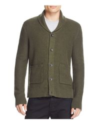 Rag & Bone | Green Shawl Collar Cardigan for Men | Lyst