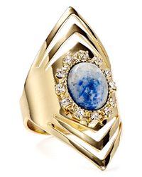 Aqua | Blue Nayla Marquis Ring | Lyst