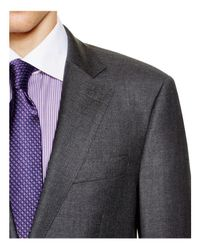 Hardy Amies - Gray Basic Regular Fit Suit for Men - Lyst