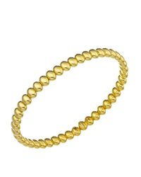 Chimento - Metallic 18k Yellow Gold Armillas Acqua Collection Bead Link Bracelet - Lyst
