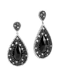 John Hardy | Black Sapphire And White Sapphire | Lyst