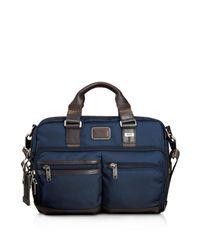 Tumi - Gray Andersen Slim Commuter Briefcase for Men - Lyst