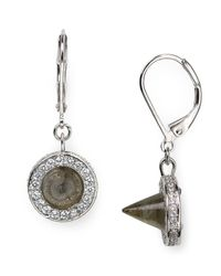 Eddie Borgo - Metallic Cone Drop Earrings - Lyst