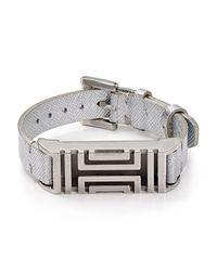 Tory Burch - Metallic For Fitbit Wrap Bracelet - Lyst