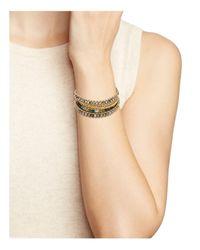 Chan Luu - Brown Multi-stone Bracelet - Lyst