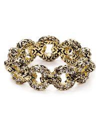 House of Harlow 1960 - Metallic Eternal Link Ring - Lyst