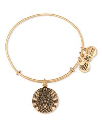 ALEX AND ANI | Metallic Hand Of Fatima Ii Expandable Wire Bangle | Lyst