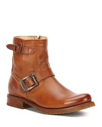 Frye | Brown Veronica Boots | Lyst