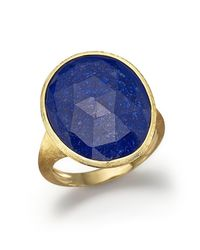 Marco Bicego | Blue 18k Yellow Gold Lapis Ring - 100% Exclusive | Lyst
