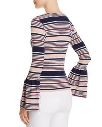 Splendid - Multicolor Striped Bell Sleeve Top - Lyst