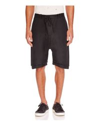 Chapter - Black Irro Drawstring Shorts for Men - Lyst