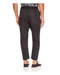 Chapter - Black Baron Drawstring Straight Fit Pants for Men - Lyst