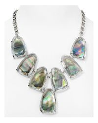 "Kendra Scott - Multicolor Harlow Statement Necklace, 19"" - Lyst"