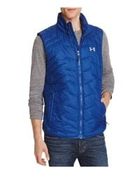 Under Armour - Blue Cold Gear® Reactor Vest for Men - Lyst
