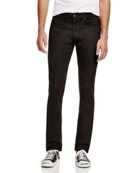 Joe's Jeans | Black Twill Slim Fit Pants for Men | Lyst