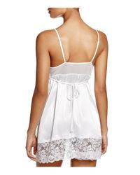 In Bloom by Jonquil - Purple The Bride Chemise With Garter - Lyst