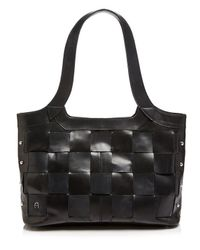 Etienne Aigner - Green Jerry Woven Tote - Lyst