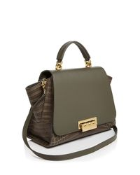 Zac Zac Posen - Gray Eartha Soft Top Handle Satchel - Lyst