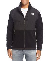 The North Face | Black Denali Zip Fleece Jacket for Men | Lyst