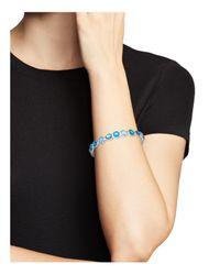 Ippolita - Sterling Silver Wonderland Doublet Bangle Bracelet In Blue Star - Lyst