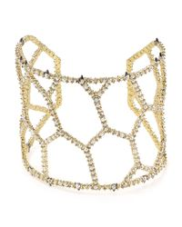 Alexis Bittar - Metallic Elements Crystal Honeycomb Cuff - Lyst