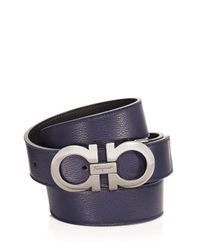 Ferragamo - Multicolor Double Gancini Belt for Men - Lyst