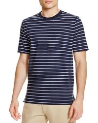 Brooks Brothers - White Supima Cotton Stripe Tee for Men - Lyst