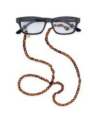 "Corinne Mccormack | Multicolor Tortoise-print Glasses Chain, 29"" | Lyst"
