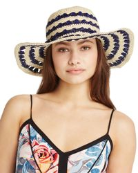 kate spade new york - Natural Packable Crochet Sun Hat - Lyst
