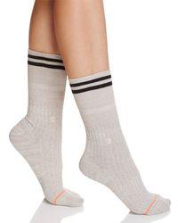 Stance - Gray Sirianni Ribbed Socks - Lyst