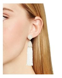 BaubleBar | White Piñata Drop Earrings | Lyst