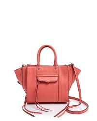 Rebecca Minkoff | Orange Side Zip Mab Mini Crossbody | Lyst