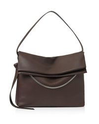 AllSaints | Brown Large Lafayette Shoulder Bag | Lyst