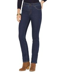 Pink Pony | Blue Lauren Plus Straight Leg Jeans In Rinse | Lyst