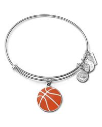 ALEX AND ANI - Metallic Team Usa Basketball Expandable Wire Bangle - Lyst